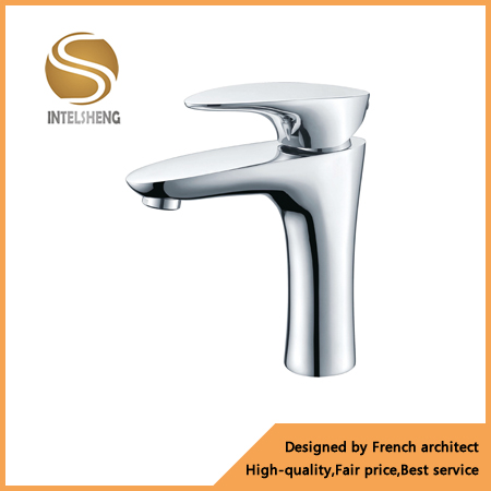 brass basin faucet chromium plating Aom01 kitchen bathroom faucet
