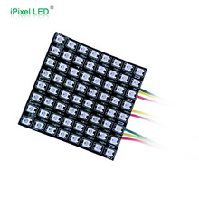 Non-waterproof flexible 5050rgb 8*8 led matrix -- ws2812b