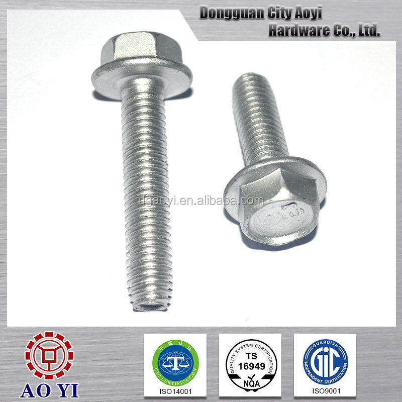 Best sell design double threaded bolts