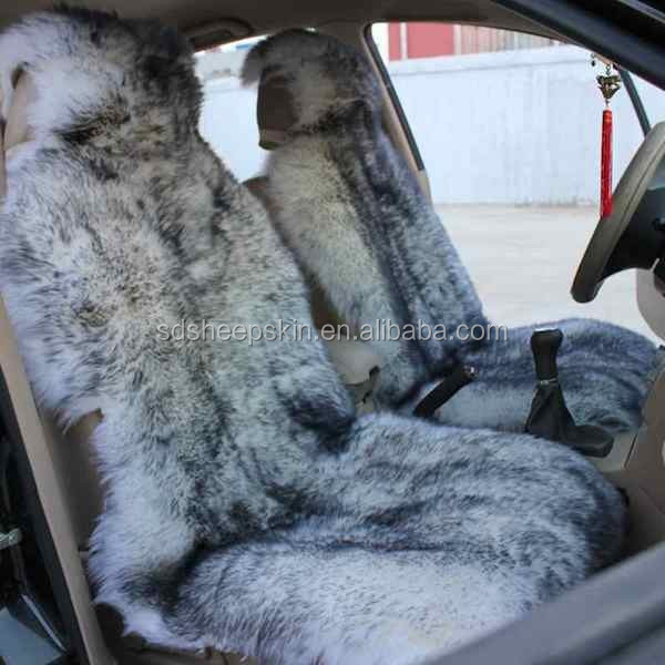 Wholesale Long Hair Sheepskin Car Seat Cover carseat cover