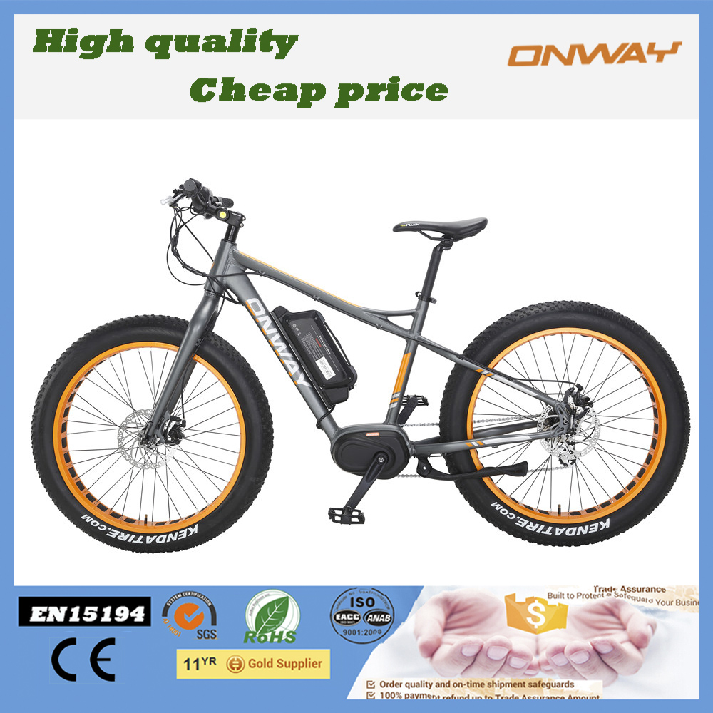 Disc Brake electric mountain bike with max center motor