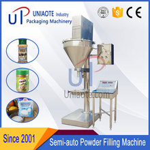 Semi Automatic Auger Filler Chicken Powder Pouch Packaging Machine
