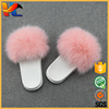 Customize Genuine Fox Fur Slide Sandals