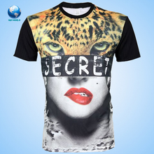 BIGWORLD Wholesale 3d mens cotton print tshirt