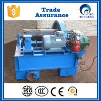 China QPQ/QPK/QPT stationary electric gate hoist