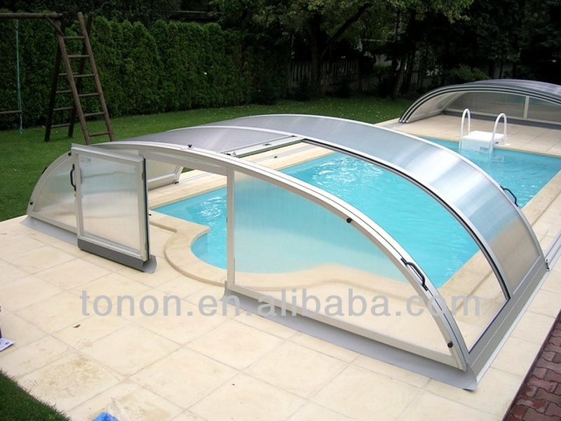 plastic swimming pools polycarbonate hollow pc sheet PC58 pc hollow sheet manufacturer