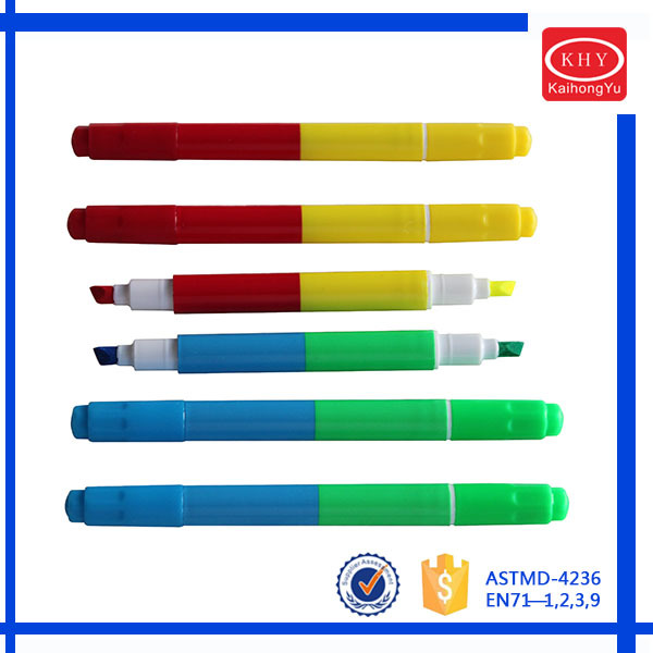 Promotional environmental colored liquid chalk marker