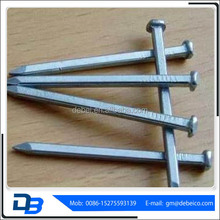 Electro Galvanized Square Boat Nails Hardened Steel Concrete Nails