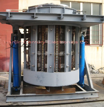 medium frequency electric induction melting furnace