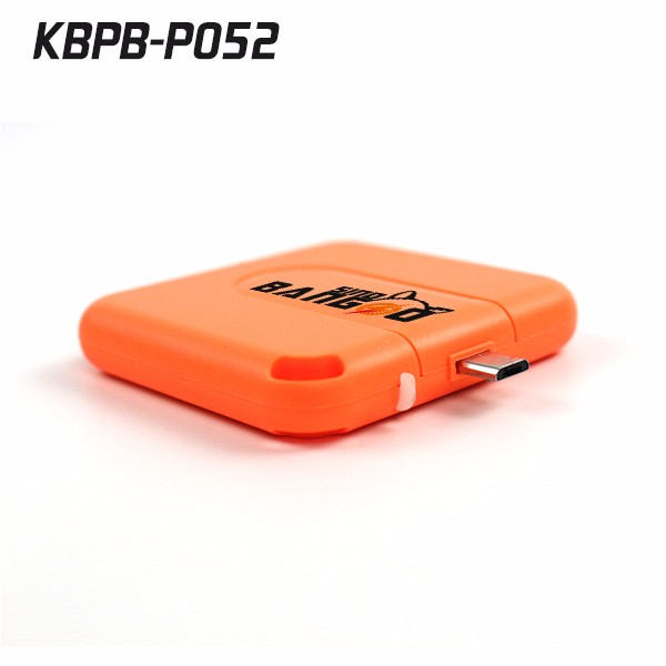 Pocket size mobile phone 1000Mah disposable power bank charger fit for apple phone and android phones
