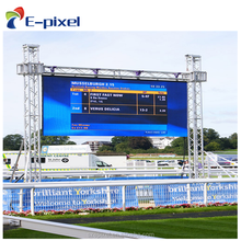 P3.91 500x500mm curved cabinet front service Outdoor rental led screen stage led display