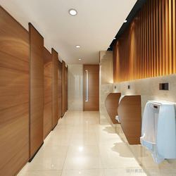 waterproof compact laminate toilet cubicle partition board 18mm series