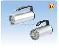 Flame Proof LED Torch Light, Explosion Proof LED rechargeable Flashlight