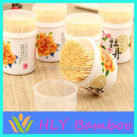 Decorative party high quality bamboo diamond flat toothpicks wholesale