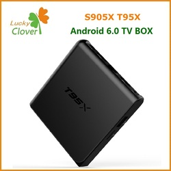 Lastest android 6.0 m tv box android remote control included Amlogic S905X tv box 1GB/2GB 8GB t95x