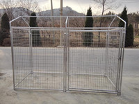Used Dog Kennels or galvanized comfortable dog run fence