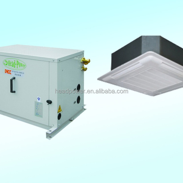 chilled water cassette type air conditioner fan coil unit