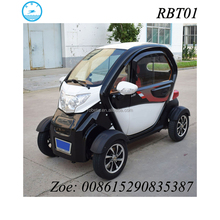 3 seater low speed automobile adult street legal mini electric car
