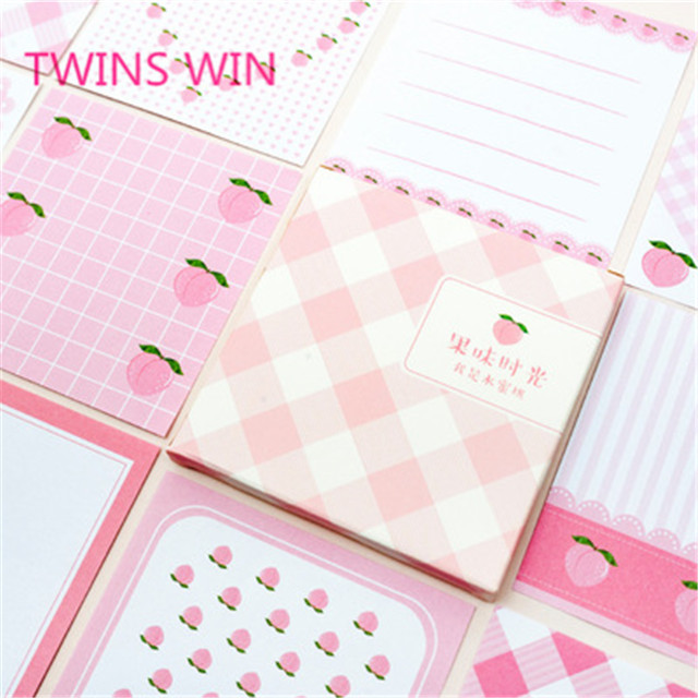 Best selling square shape pink cute sticky note pad <strong>1015</strong>