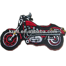 Custom Motorcycle Design Embroidery Patch At Competitive Price