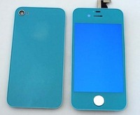 High quality for iphone 4 mirror blue screen replacement