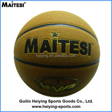 BEST SALE PVC/PU Laminated Basketball training basketball