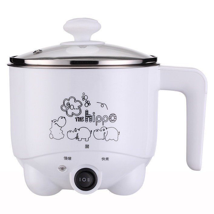 Multi-functional 304 stainless steel electric caldron with electric instant cooker function