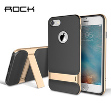 Wholesale Original Rock Royce Holder Series TPU PC Luxury Kickstand Case For iPhone 6 7 Plus Phone Back Covers