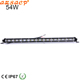 Wholesale off road 12 volt 54w slim led light bar with oval reflector