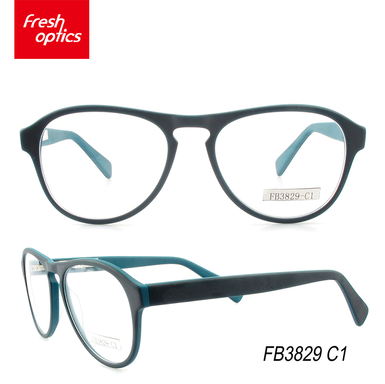 Wholesale high quality acetate handmade spectacle frames