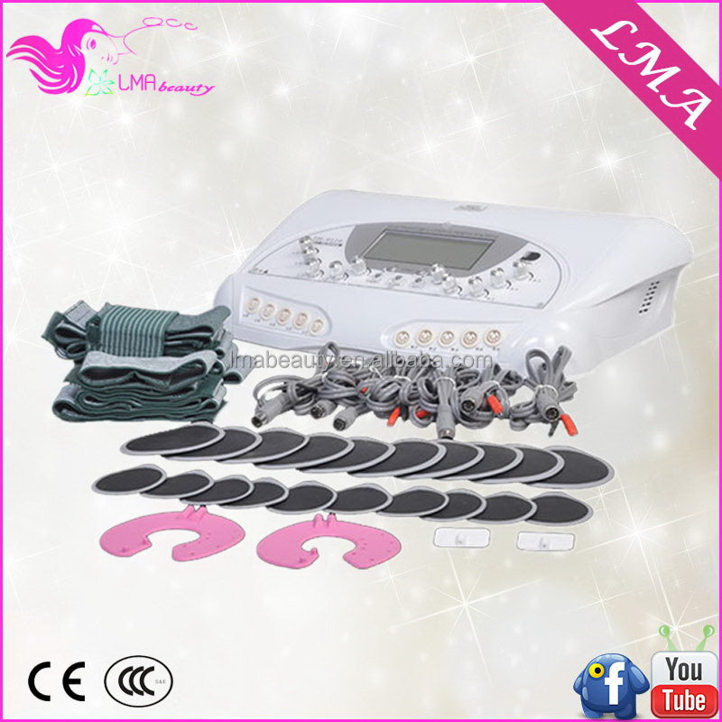 Designer good quality home use body shape and electric stimulator slimming machine