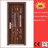 Factory hot sale security steel door skin SC-S141