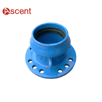 Ductile Iron Pipe Fittings Class K12 Flange & Socket End