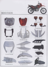 Bross NXR150 motorcycle parts/Brasil motorcycle spare parts/South America motorcycle parts