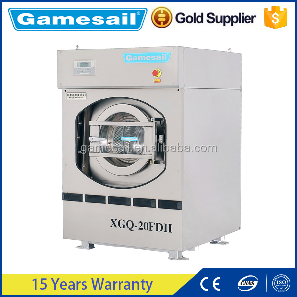 Hot water heating Washer Extractor (15kg-130kg)