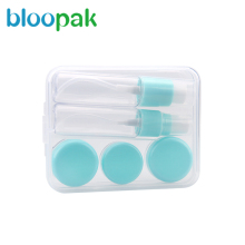 Cheap 6pcs plastic cosmetics packaging toiletry kit makeup travel bottle set