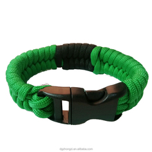 New Product Wholesale 450 Nylon Paracord Twisted Cord Bracelet