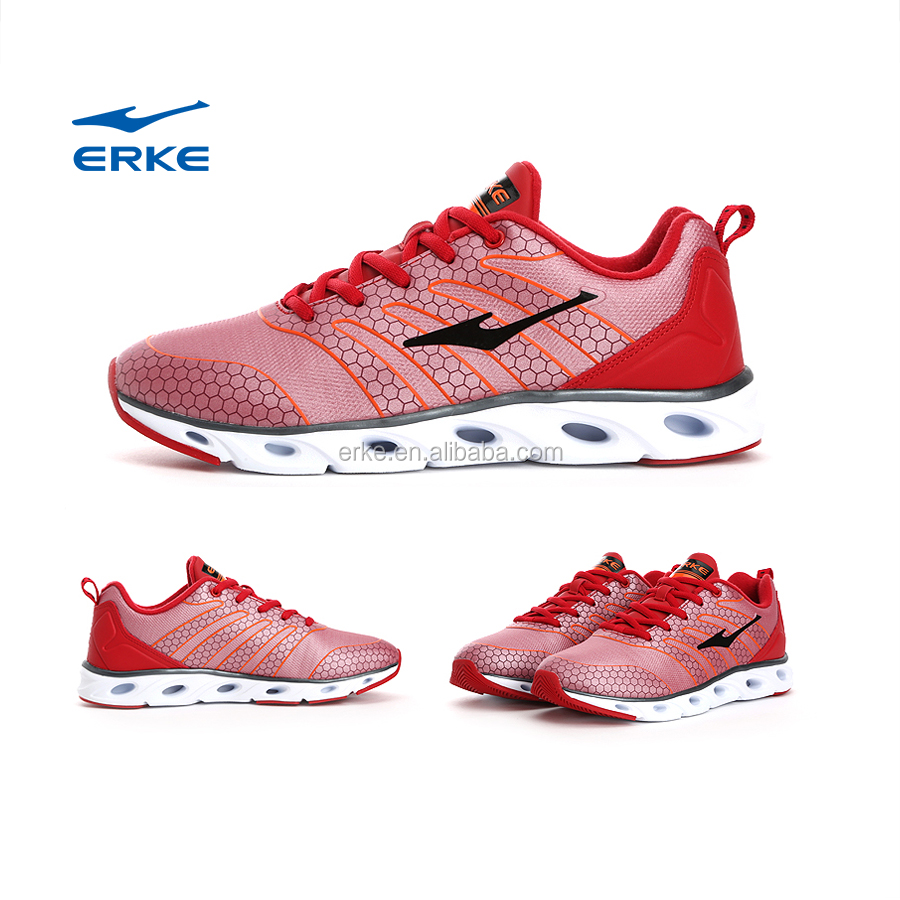 ERKE wholesale factory dropshipping energy bounce action mens sports running shoes