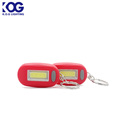 Cob mini led flashing light keychain light with magnet
