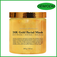 24K Gold Facial Mask/Anti Aging Mask Reduces the Wrinkles and Fine Lines, Firming Up Skin