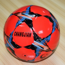wholesale china rexine PVC synthetic leather soccer ball size 5
