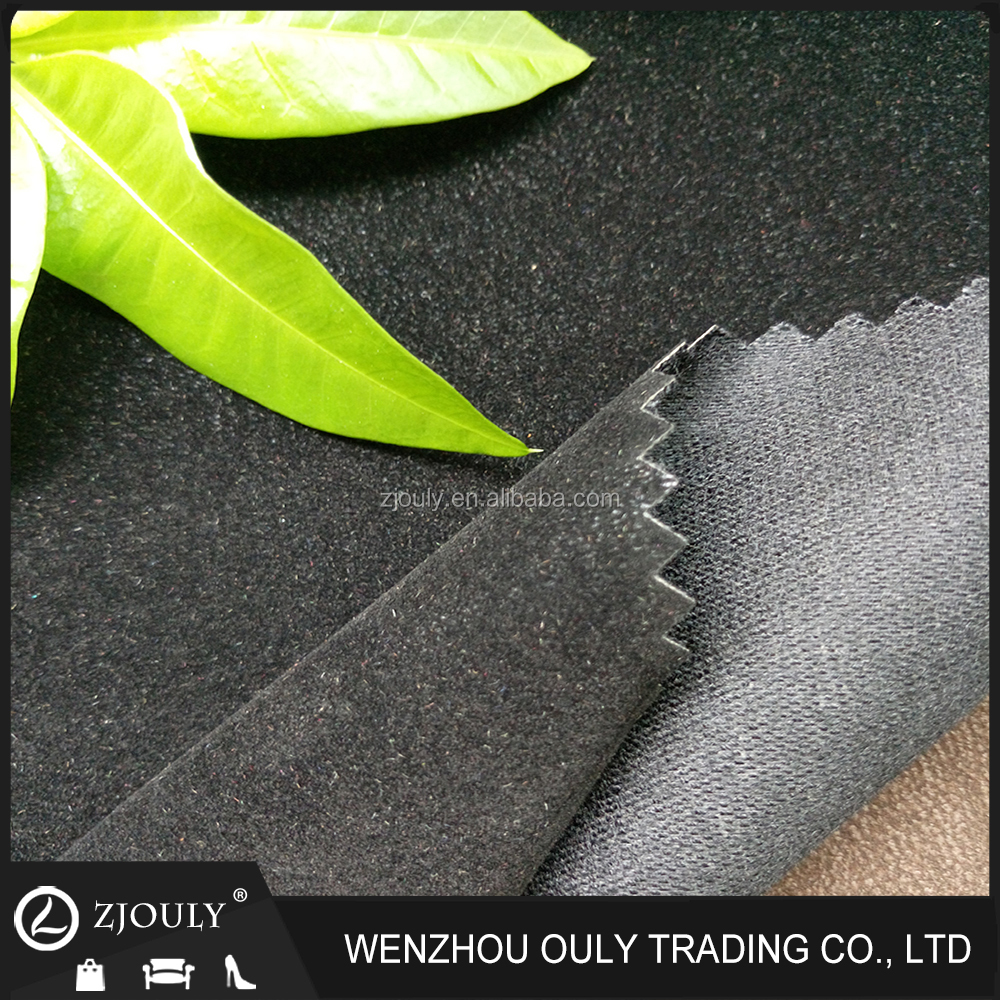 wholesale china trade Shiny Collection pu leather raw material for shoe making three
