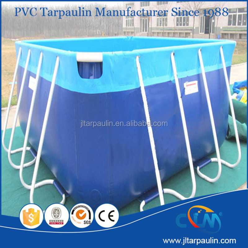Low price pvc inflatable frame pool /removable swimming pool /stents pool