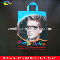 Good quality custom Handle polybag,carrier polybag ,shopping plastic bag