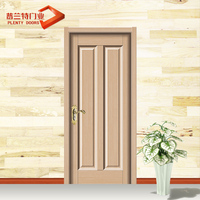 China supplier mother-son pvc wood door