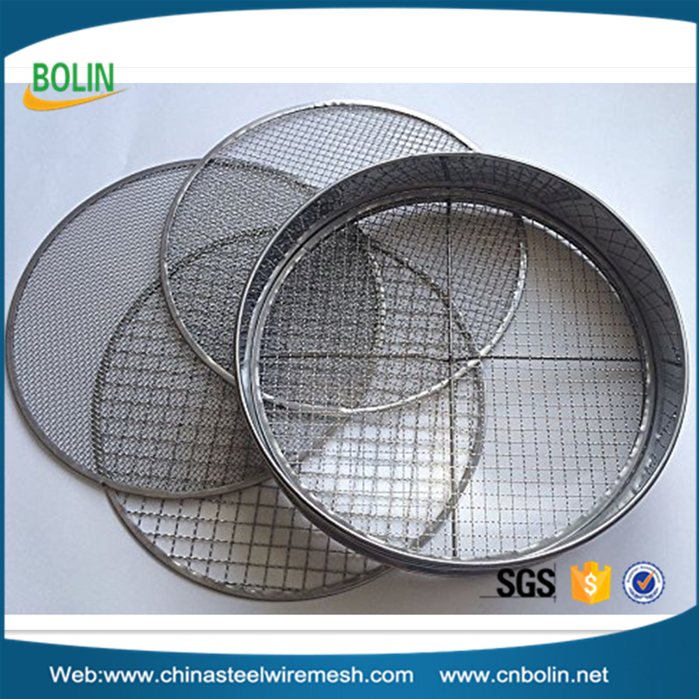 3 6 9 12mm Riddle 12 inch Diameter Stainless Steel Garden Potting Sieve