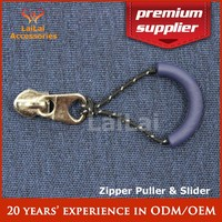 rope and rubber zipper pulls