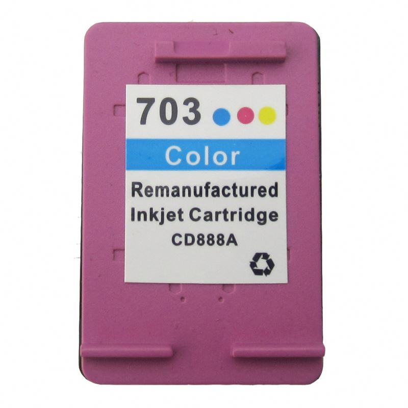 Hot high quality compatible ink cartridge for HP 703 C CD888AA