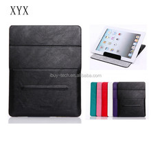 Factory wholesale price leather case for ipad mini 3 case for ipad case with good quality