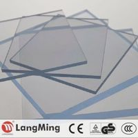 Hot New Product price 3mm green house polycarbonate roofing sheet